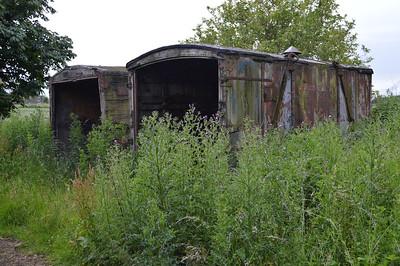 2 x BK Containers, unknown id on Turnhouse Road, Gogar, Edinburgh  17/07/15.