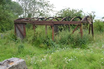 12t Vent Van Derelict at Milton Brae Road, Milton of Balgonie  17/07/15.