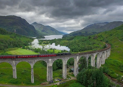 150820 Jacobite at Glenfinnan s001