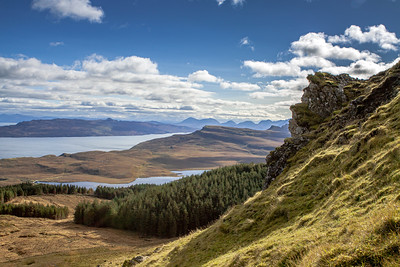 The view from the Old Man of Storr