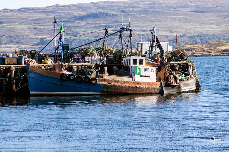 Fishing Boats at Tobermory Pier