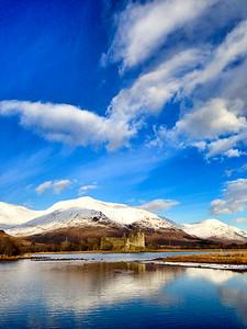 Kilchurn Castle Loch Awe Scotland