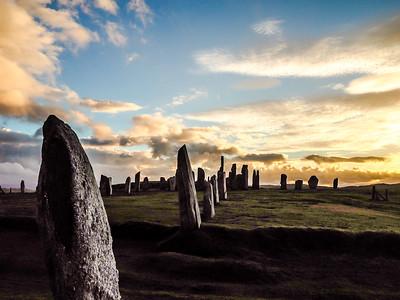 Calanish Stone Circle The Isle of Lewis Scotland