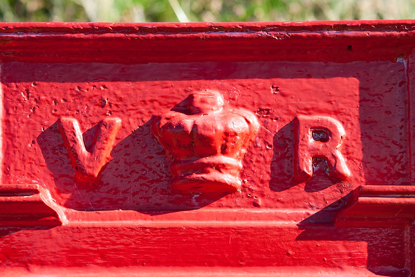 Red Post Box at Red Point