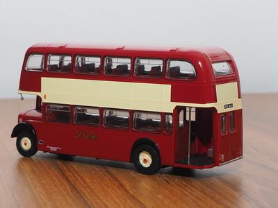 B-T Models B104A Alexander Fife Bristol Lodekka LD6G route 12 Birnam Road