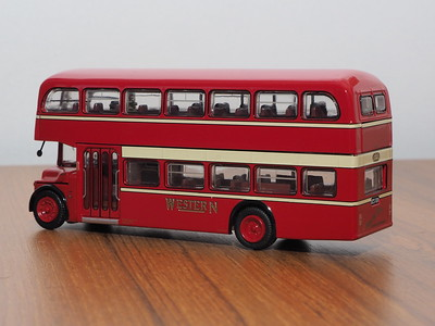 Britbus LLA-01 Western Albion Lowlander Alexander to Ayr