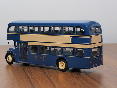 Britbus LLA-02 Alexander Midland Albion Lowlander Alexander to Falkirk