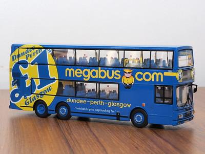 CMNL HKBUS2002 Stagecoach Bluebird Leyland Olympian Tri-Axle Alexander 'Megabus'