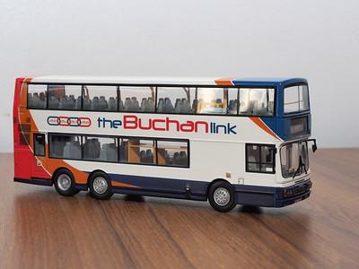 CMNL HKBUS2009 Stagecoach Bluebird Leyland Olympian Tri-Axle Alexander 'The Buchan Link'