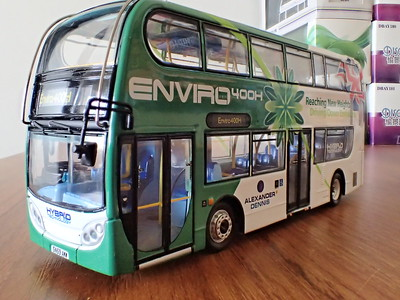 Scottish model bus photographs