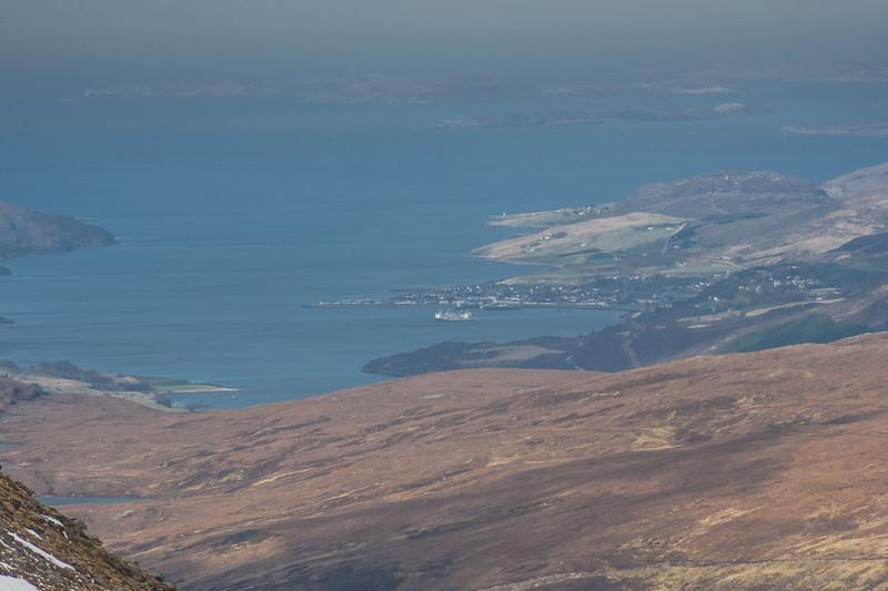 Ullapool and Loch Broom From Beinn Dearg