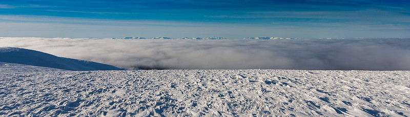 Looking southwards over the Inversion