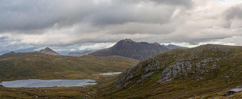 Beinn Dearg Mor from the Ruadh Stac Mor path