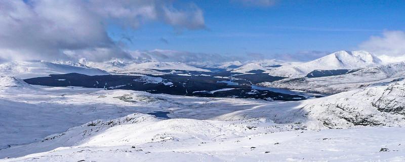 Loch Laggan and Glen Spean