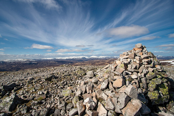 Summit Cairn on Carn an Righ