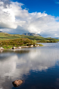 The Black Mount Hills from Lochan na h-Achlaise