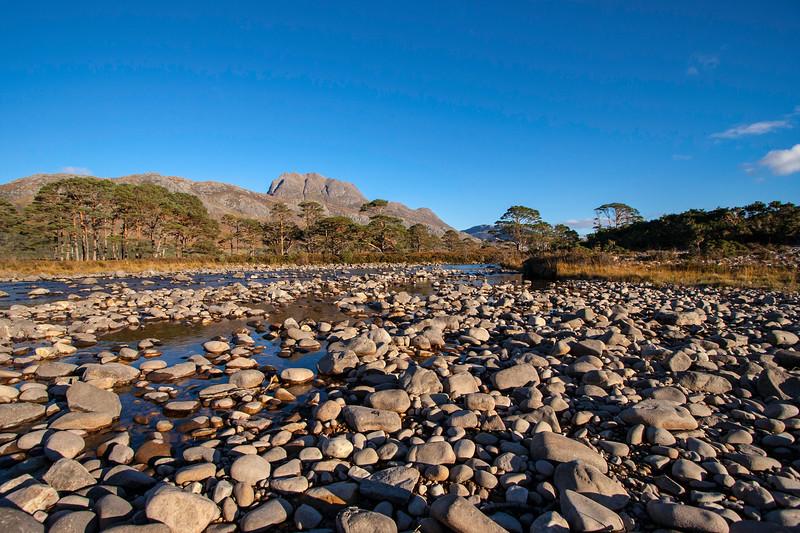 Slioch from Grudie, Loch Maree