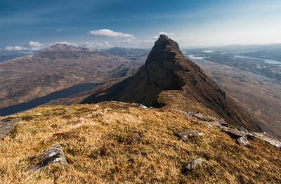 The view from Suilven summit