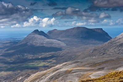 Quinag from Ben More Assynt