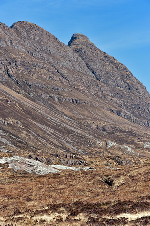 The descent from Suilven