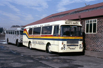 Radio Royal SWG679H Larbert Road Depot Falkirk Mar 86