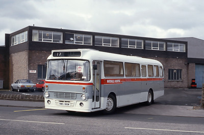 Whitehills Hospital NMS186M SBG Engineering Kirckaldy Apr 87