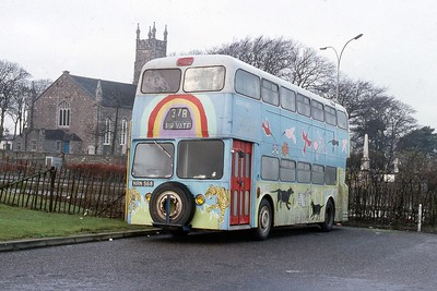 Unknown Owner NRN568 Nigg Kirk Aberdeen Jan 90