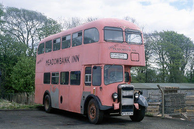 Stirling Dickmontlaw WTS937A Strathtay Arbroath Depot May 91