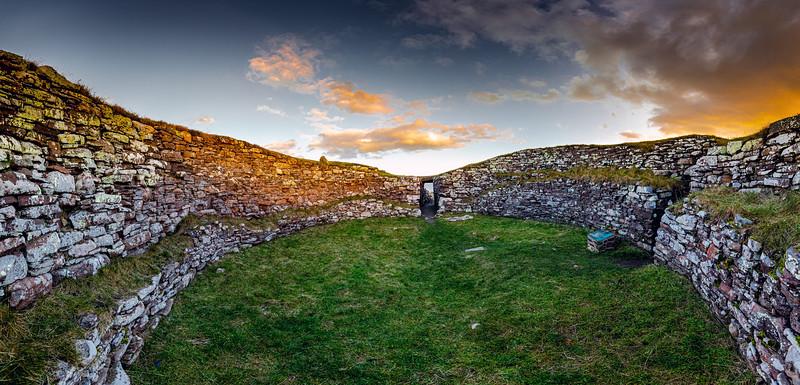 Carn Liath Broch, Sutherland