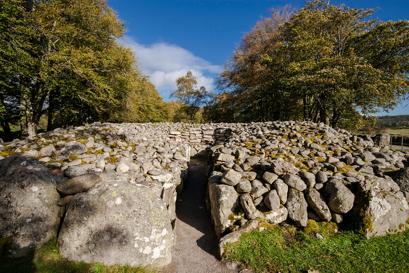 Clava Cairns North East Passage Cairn