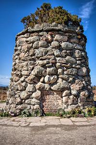 Memorial Cairn,  Culloden Battlefield