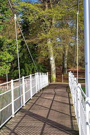The Footbridge onto the Ness Islands
