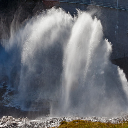 Water Release from Loch Monar Dam