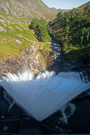 Water Release from Loch Monar Dam