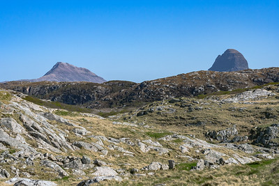 Canisp and Suilven from Achmelvich