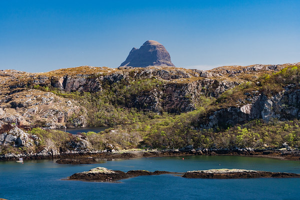 The view to Suilven