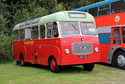Preserved 380FGB Lathalmond 1 Aug 11