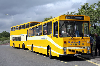 Preserved A506FSS Carnegie Drive Dunfermline 2 Aug 11
