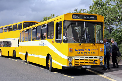 Preserved A506FSS Carnegie Drive Dunfermline 1 Aug 11