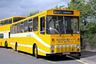 Preserved A506FSS Carnegie Drive Dunfermline 3 Aug 11