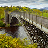 scottish highlands bridge at craigellachie