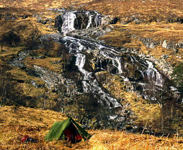 The Coir' an Eoin falls.  11am, 11/04/93