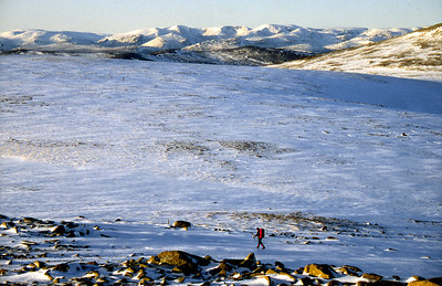 Cairngorms from Cairn Bannoch.  1.30pm, 28/12/92