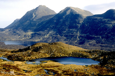 Baosbheinn from the south.  8am, 23/04/84