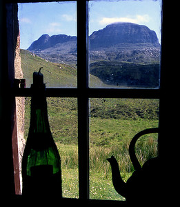 . . . and Suilven.14/06/88~ The wisp of cloud on Caisteal Liath is the last remnant of the memorable inversion which features in the Northern Highlands gallery.