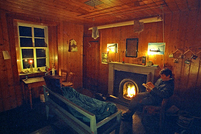 ~ . . . wherein one finds a cosy interior . . .