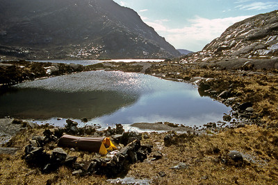 Camp at Coruisk.  9am, 23/4/82