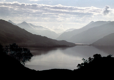 Loch Nevis from Easter Stoul.  7am, 8/6/82