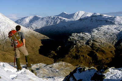 Gulvain from Beinn an Tuim.  2pm, 3/1/86