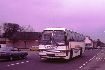 MPT129 A129ESG east through Polmont on an X17